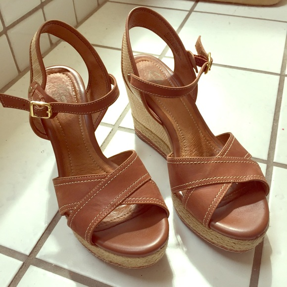 c4203fad178 Clarks Shoes - Indigo by Clarks Amelia Air Espadrilles Cognac